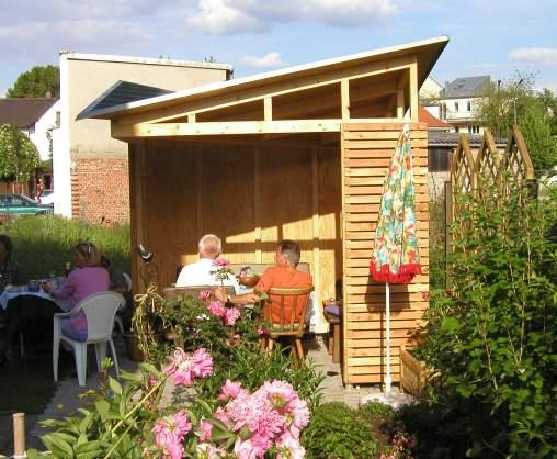 Modern - Gartenpavillon modern ...